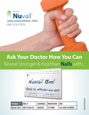 Innocutis announces the FDA approval of Nuvail™ (poly-ureaurethane, 16%) nail solution